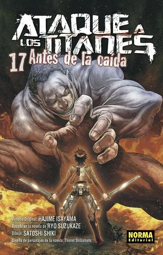 ATAQUE A LOS TITANES 17 ANTES DE LA CAIDA
