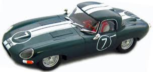 JAGUAR E-TYPE ROADSTER BRITISH GREEN