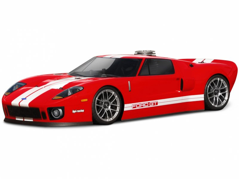 NITRO RS4 3 18SS KIT FORD GT BODY 1/10