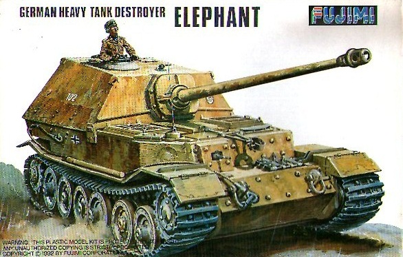 GERMAN HEAVY TANK DESTROYER ELEPHANT 1/76