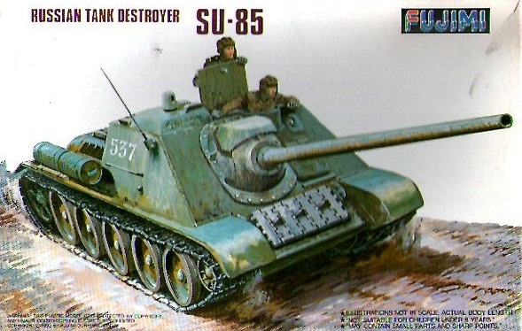 RUSSIAN TANK DESTROYER SU-85 1/76