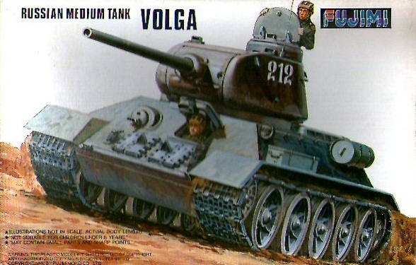 RUSSIAN MEDIUM TANK VOLGA 1/76