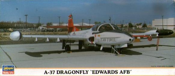 A-37 DRAGONFLY EDWARDS AFB 1/72
