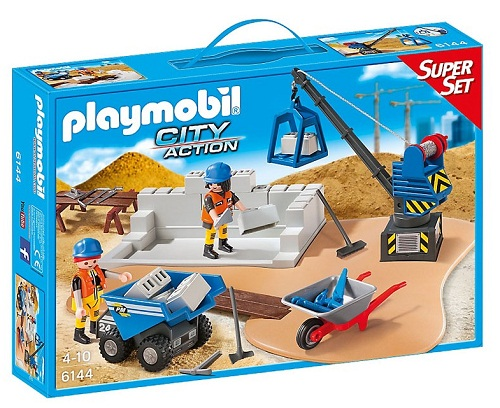 SUPERSET DE CONSTRUCCION PLAYMOBIL 6144