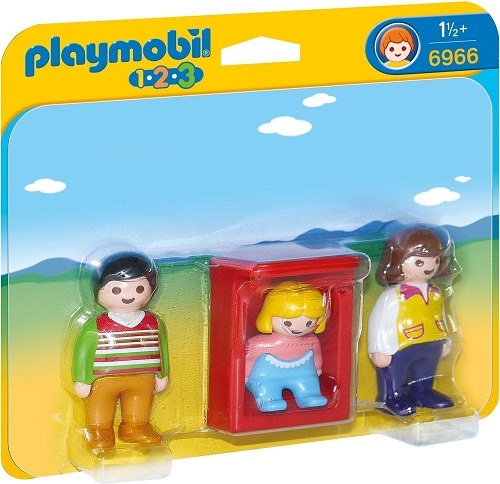 1.2.3 PADRES CON BEBE PLAYMOBIL 6966