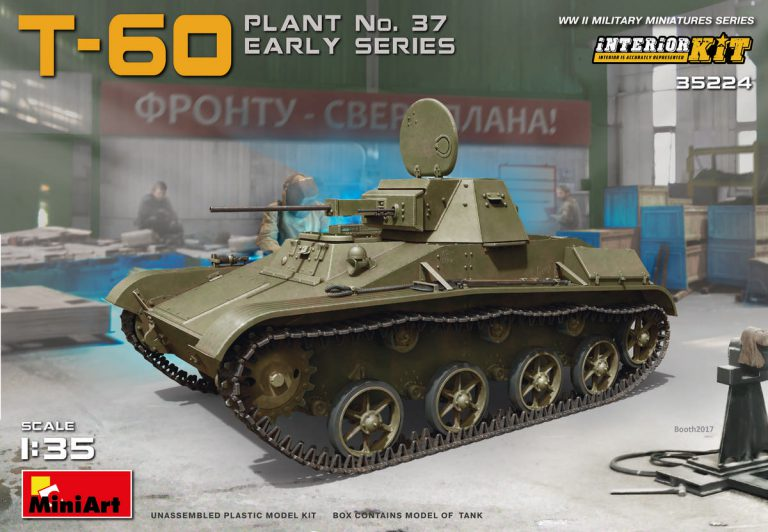 T-60 PLANT Nº37 EARLY SERIES INTERIOR 1/35 35224