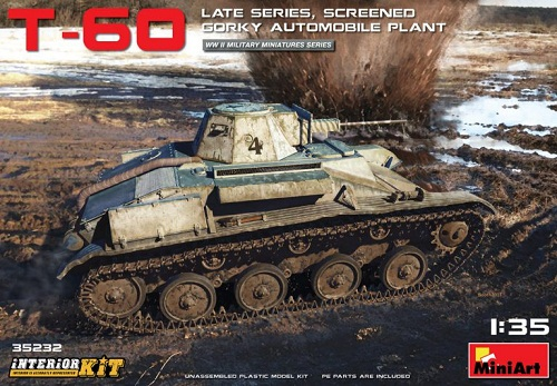 T-60 LATE SERIES SREENED GORKY INTERIOR 1/35 35232