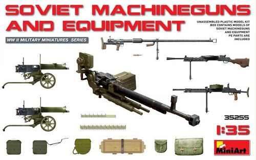 SOVIET MACHINEGUNS AND EQUIPMENT 1/35 35255