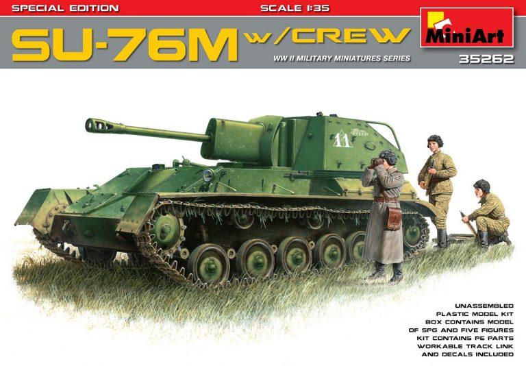 SU-76M W/CREW SPECIAL EDITION 1/35 35262