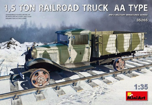 1,5 TON RAILROAD TRUCK AA TYPE WWII 1/35 35265