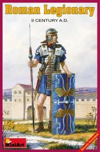 ROMAN LEGIONARY II CENTURY A.D. 1/16 16007 MINIART