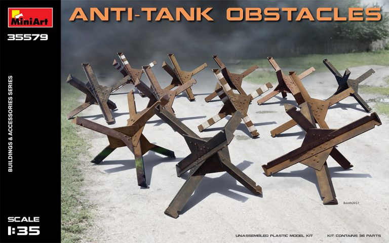 ANTI-TANK OBSTACLES 1/35 35579