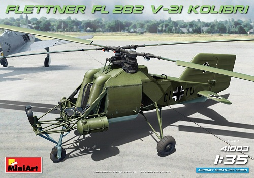 FLETTNER FL282 V-21 KOLIBRI 1/35 MINIART