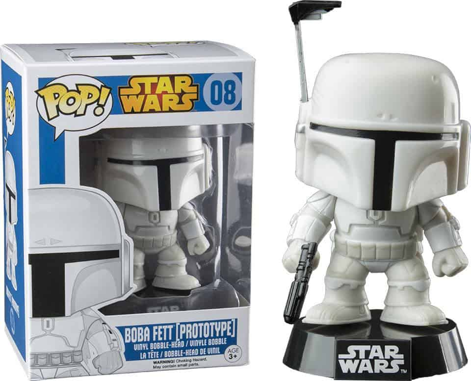 BOBA FETT / PROTOTIPO / FIG 10 CM VINYL POP STAR W