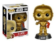 C3-PO  FIG.10CM VINYL POP STAR WARS THE FORCE AWAK