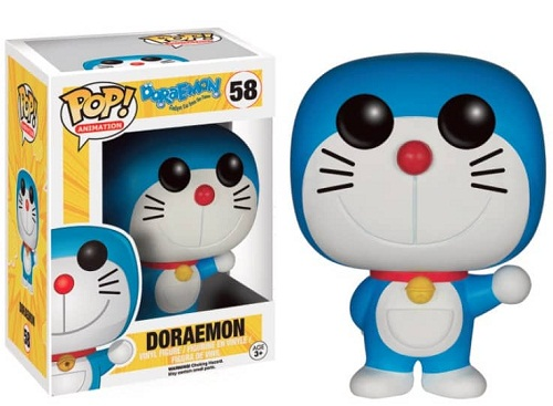 DORAEMON FIGURA 10 CM VINYL POP ANIMATION DORAEMON