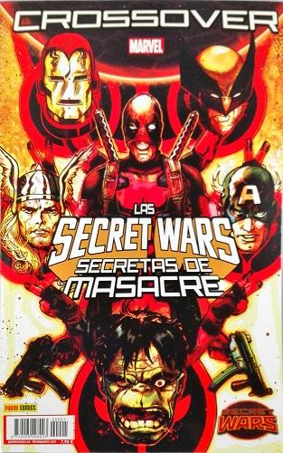 SECRET WARS. CROSSOVER 10. 1602: ANGELA, CAZADORA