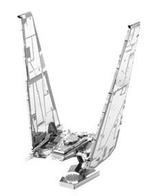 KYLO RENS COMMAND SHUTTLE METAL MODEL KIT 3D 10 C