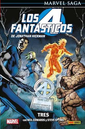 4 FANTASTICOS DE JONATHAN HICKMAN 03: TRES