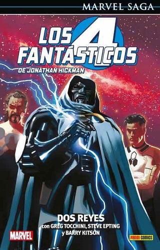 4 FANTASTICOS DE JONATHAN HICKMAN 05: DOS REYE