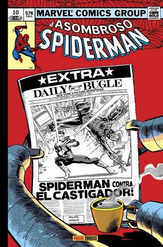 ASOMBROSO SPIDERMAN 10.¿HEROE O AMENAZA?  (MARV
