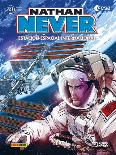 NATHAN NEVER. ESTACION ESPACIAL
