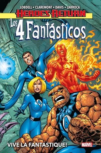 4 FANTASTICOS 01. VIVE LE FANTASTIQUE!