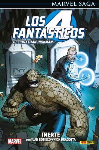4 FANTASTICOS DE JONATHAN HICKMAN 08: INERTE (