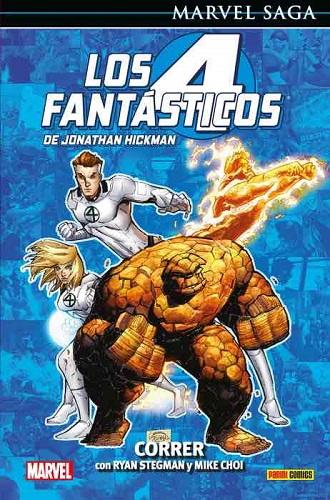 4 FANTASTICOS DE JONATHAN HICKMAN 09: CORRER (