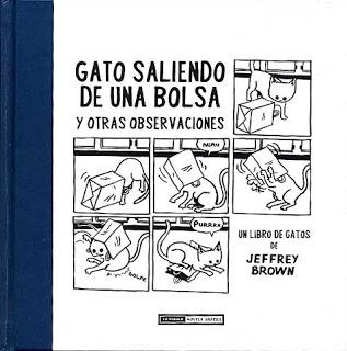 GATO SALIENDO DE UNA BOLSA Y OTRAS OBSERVACIONES