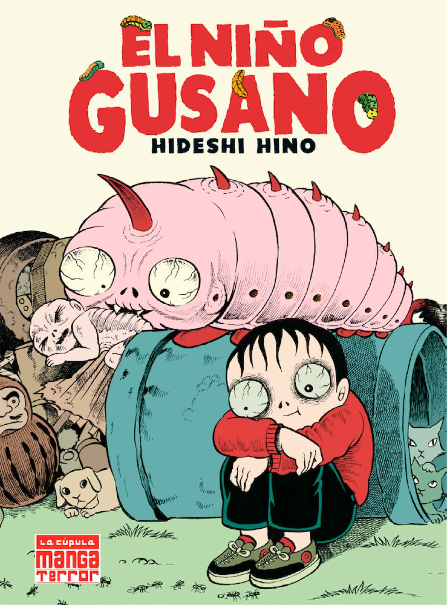 NIÑO GUSANO (MANGA TERROR)