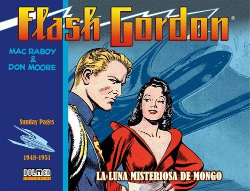 FLASH GORDON. LA LUNA MISTERIOSA DE MONGO 1948-195
