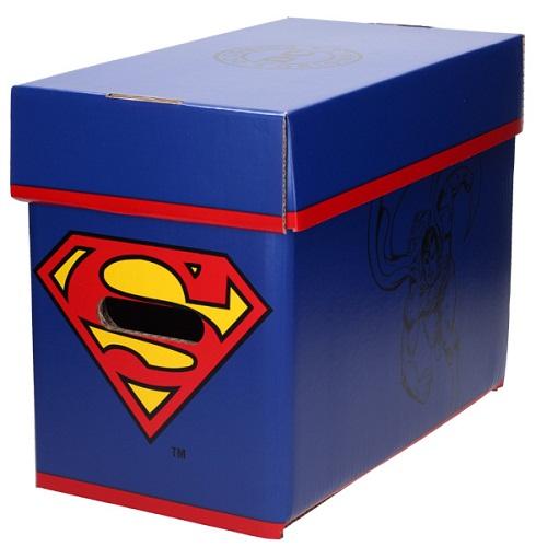 SUPERMAN CAJA PARA COMICS DC COMICS