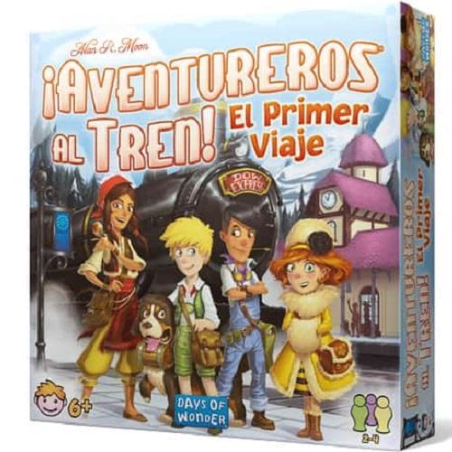 AVENTUREROS AL TREN - EL PRIMER VIAJE