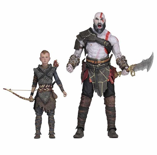 ULTIMATE KRATOS & ATREUS SET 2 FIGURAS 18 CM GOD O