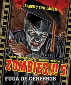ZOMBIES!!! 5 - FUGA DE CEREBROS  - EXPANSION