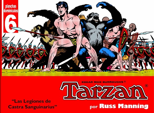 TARZAN - PLANCHAS DOMINICALES 6
