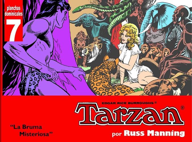TARZAN - PLANCHAS DOMINICALES 7