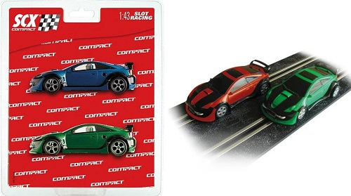 BLISTER COMPACT 2 COCHES TUNING 1/43