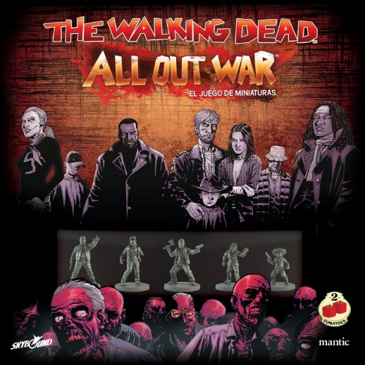 THE WALKING DEAD. ALL OUT WAR. EL JUEGO DE MINIATU