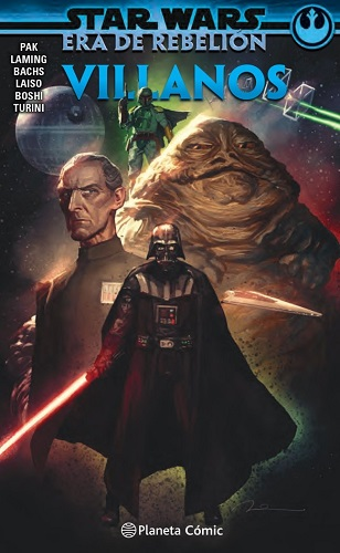 STAR WARS ERA DE LA REBELION VILLANOS TOMO