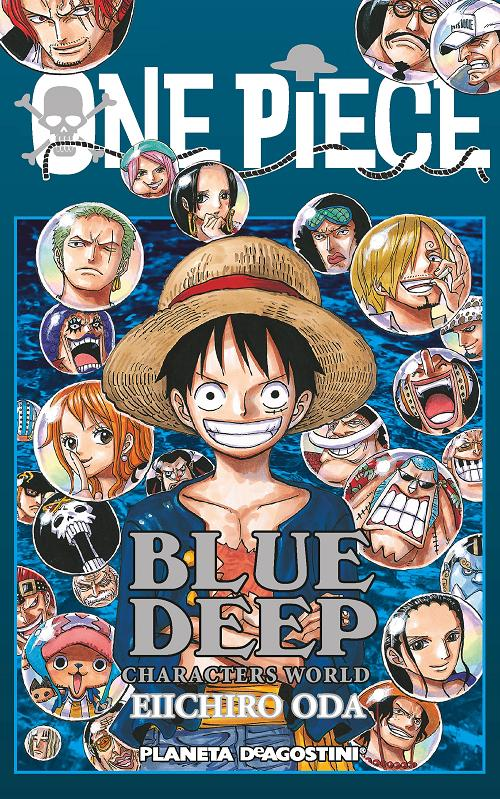ONE PIECE GUIA BLUE DEEP
