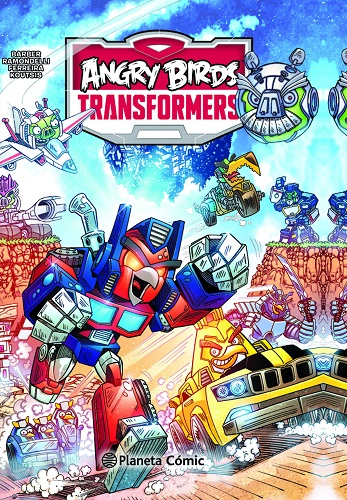 ANGRY BIRDS TRANSFORMERS 01/02