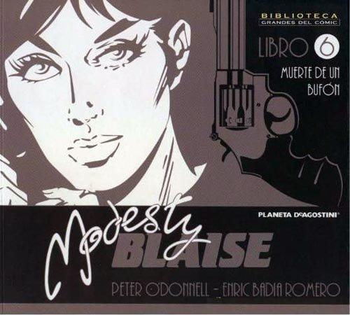 BIBLIOTECA GRANDES COMIC: MODESTY BLAISE 06 (D10)