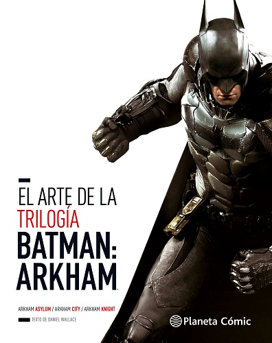 ARTE DE BATMAN ARKHAM ROCKSTEADY