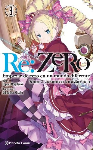 RE ZERO (NOVELA) 03