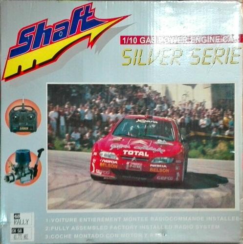 COCHE XSARA 4WD C/RADIO 1/10 GASOL.