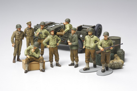 U.S. ARMY INFANTRY AT REST 1/48 32552