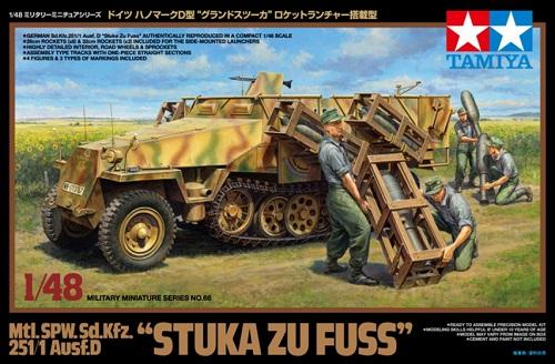 SD.KFZ.251/1 STUKA ZU FUSS 1/48 32566 TAMIYA