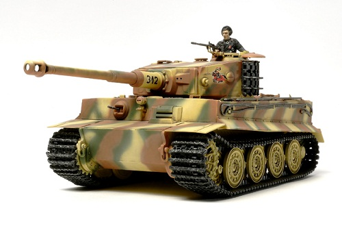 GERMAN TIGER I LATE PRODUCTION 1/48 32575